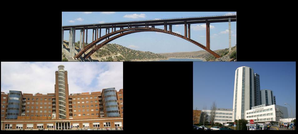 puente y hospitales