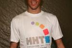 Alberto Contador con la camiseta de HHT España