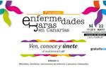 Cartel de la jornada Enfermedades Raras en Canarias