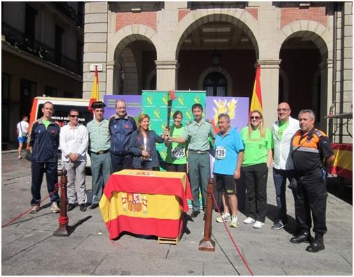 Entrega de trofeos en Carrera solidaria en Zamora